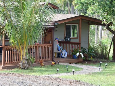 Photo for Peaceful cottage Close to the best beaches in Hawaii! Come visit!