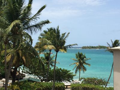 Photo for Upscale studio, Le Gosier, Guadeloupe: La Vieille Tour, view and sea access