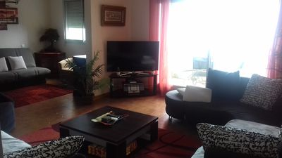 Photo for Apartment T3. BASTIA heights. Sea view. 5 pers