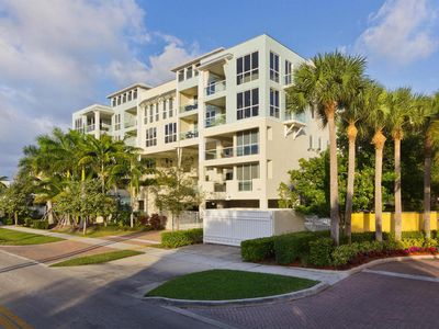 Photo for Intracoastal Water View!  Walk 2 blocks to Beach, Shops & Restaurants