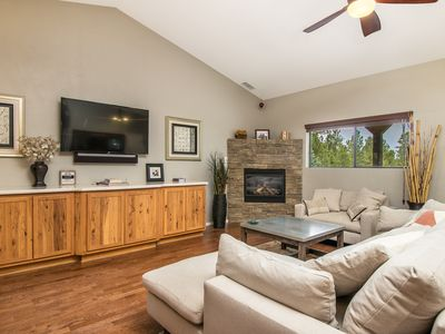Comfy, Clean and Modern House backing to Forest Trails Right in Town!