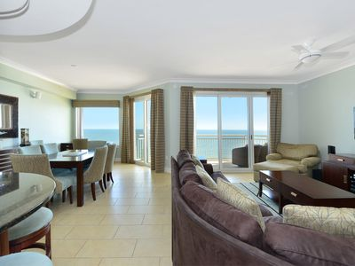 Photo for Luxury oceanfront building with a large indoor pool, outdoor pool, fitness room, large sundeck and more