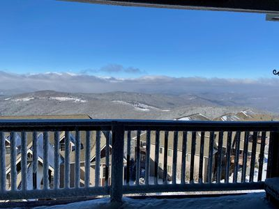 Photo for BEAR PAUSE amazing mountain views on top of Sugar Mountain min from Banner Elk