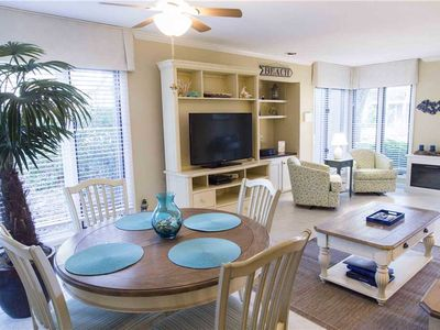 Photo for 1951 St. Andrews Commons | Views Fazio Golf Course | DOG FRIENDLY | Complex Pool | Palmetto Dunes
