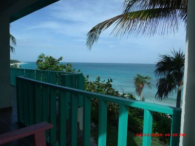 View from On the Dune's beachfront deck
