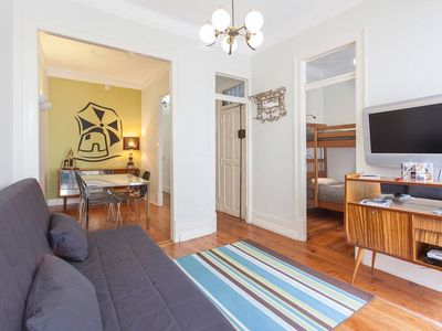 Photo for Apartment in the center of Lisbon with Internet, Balcony (641532)