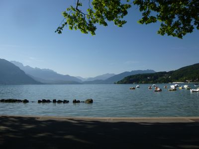 Photo for Annecy Centre 2 steps old town / lake, 3 rooms comfortable for 4 people