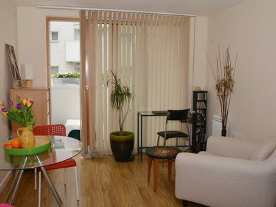 Photo for Chic one bed apartment,great transport links,concierge