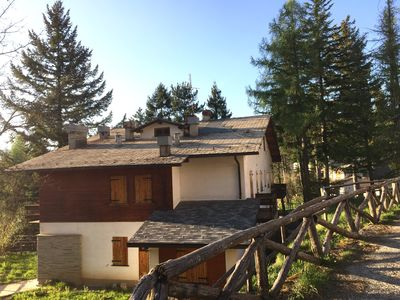 Photo for clean, 2 bedrooms, 2 bathrooms,  garage, garden, mountain, 1 hour from the sea