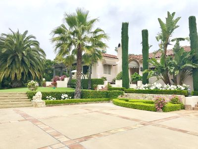 Photo for Riviera Estate- Edwards Plunkett Spanish- Modern touches-Main House & Guest Hous
