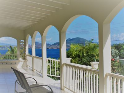 Photo for Great House at Eden Villa Nevis with Private Pool and Rental Jeep
