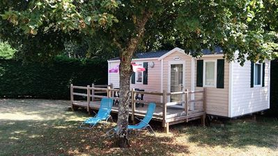 Photo for Camping La Nouvelle Croze **** - Mobil Home Comfort 3 Rooms 4/6 People