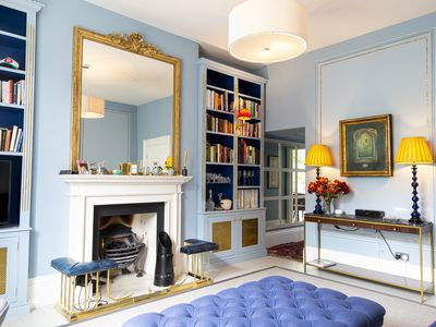 Photo for Primrose Hill, London NW1 1400sq ft  Regency garden apartment