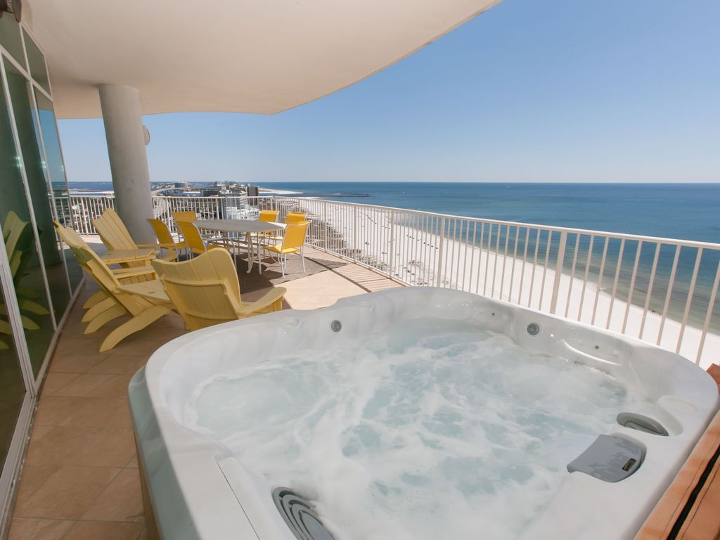 Turquoise Place 1601C: 4 Bedroom MUST SEE! FREE Golf, Deep sea ...
