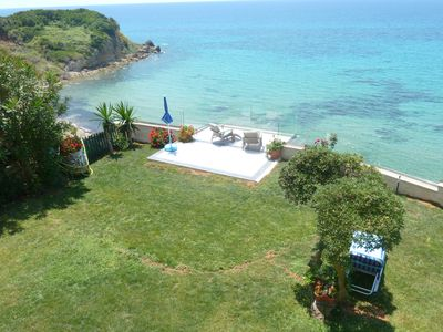 Photo for LUXURY PRIVATE SEASIDE VILLA, WITH STEPS DOWN TO OUR HIDDEN BEACH