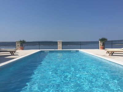 Photo for Exclusive new 5 * villa with panoramic sea view and heated pool