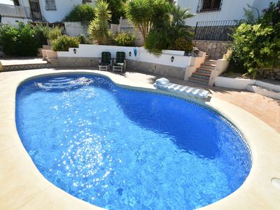 Photo for charming villa on top location in the mountains spectacular view, private pool