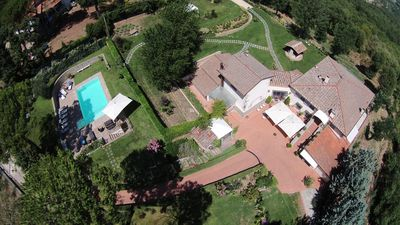 Photo for Villa with pool near Florence Il Faeto