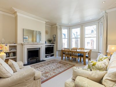 Photo for 2 bed Victorian apartment near Hampstead