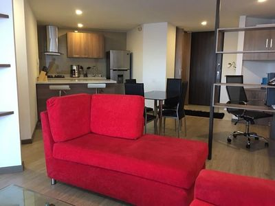 Photo for Studio apartment in Bogotá with Internet, Lift, Parking, Washing machine (753734)
