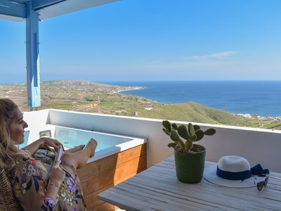 Photo for GalazioHouse Endless Sea View| Hot tub |5pax