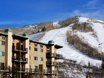 Photo for Ski in/Out + Pool +  Hot Tub + Private Shuttle + Rent 4nts, 5th FREE