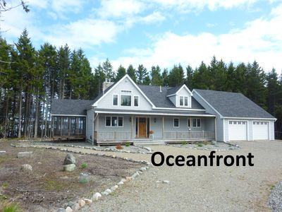 Photo for New, Direct Ocean-Front, Cottage In A Secluded Pine Forest
