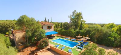 Photo for Sa Pedrera Air Conditioning Wi-fi, Pool, 15 Minutes From the beach Es TrenC