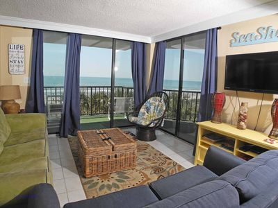 Crescent Sands Crescent Beach Unit K3! Beautiful Oceanfront Condo! Book now for best rates!