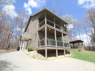 Photo for Great chalet for 2 couples with an excellent mountain view