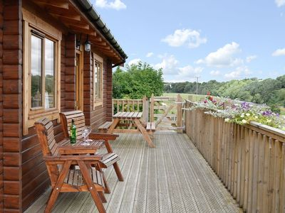 Photo for Bonnie View Lodge - Gorgeous Cabin with castle and river view