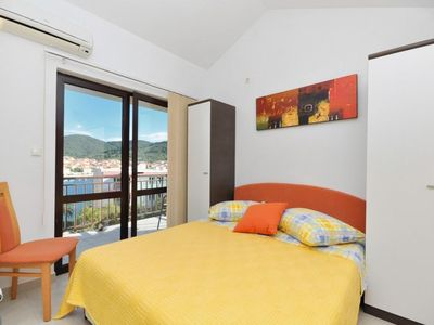 Photo for Studio flat with balcony and sea view Vela Luka, Korčula (AS-9243-a)