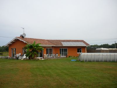 Photo for country house with quiet pool near the sea