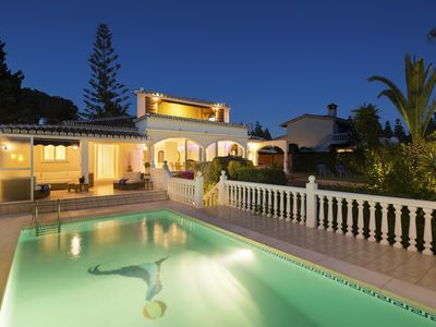 Photo for Boutique 5 bedroom villa great views. open well furnished space, family hols.