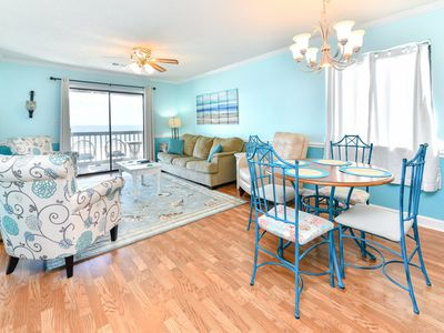 Photo for Oceanfront 3rd floor End-Unit with pool, elevator and linen package