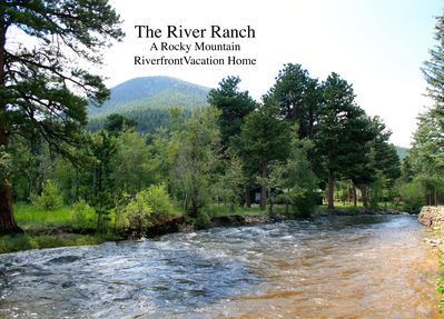 From across the river toward River Ranch