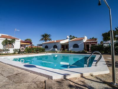 Photo for Bungalow Calm - Pool + Terrace + 3BDR