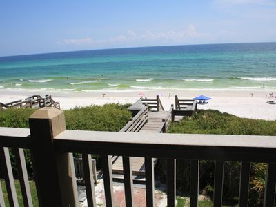 Photo for ** Seamist Beachfront Condo Unit 7 ** Seacrest Beach Florida ** Spectacular View