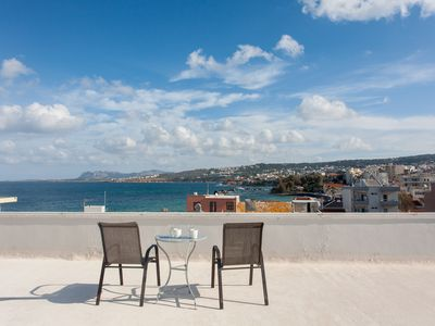 Photo for Apartment with sea-view roof garden