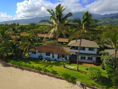 Photo for Breathtaking views at the private direct Beach front Pineapple Pad in Paradise