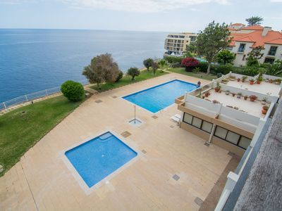 Photo for Cliff View - Apartment With Wonderful Sea Views & Swimming Pool