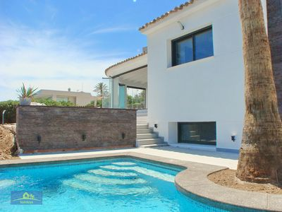 Photo for Modern and  luxury villa  with private pool in Javea, on the Costa Blanca, Spain for 10 persons