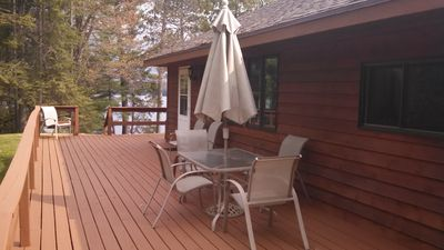 Photo for A/C, wi-fi, sand beach, boat dock