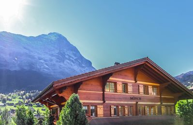 Photo for Excellent flat with a fantastic view of the Eiger!
