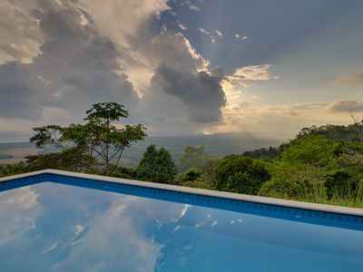 Photo for Gorgeous property w/ private pool, guest house, balcony, & unparalleled views!
