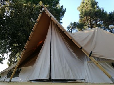 Photo for • tents for luxury camping manufactured from natural materials...