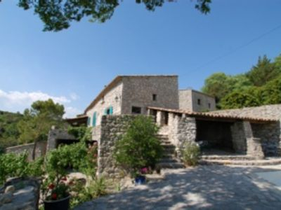 Photo for Charming house with pool in Ardeche