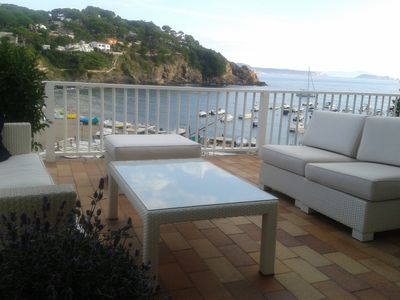 Photo for Spectacular view of the sea in Sa Riera (Begur)