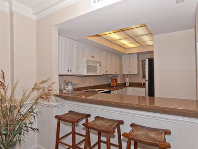Photo for Renovated oceanfront condo with a resort atmosphere and amenities