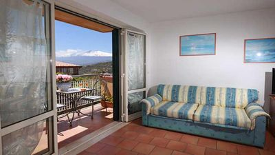 Photo for Taormina Altures comfortable and large apartment